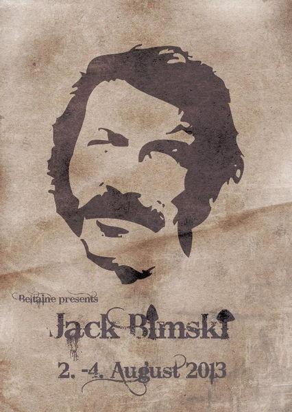 Party Flyer Jack Bimski 2 Aug '13, 18:00