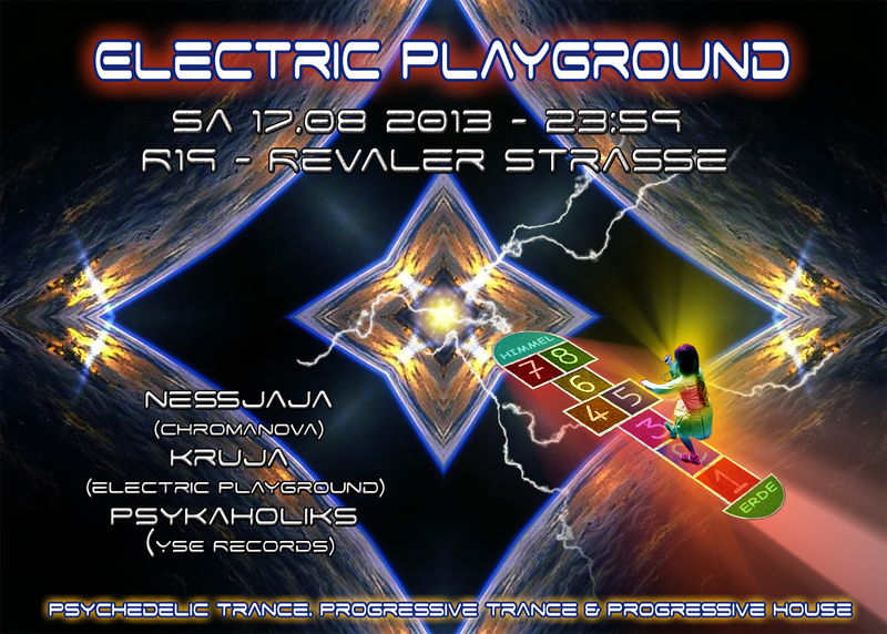 Party Flyer Electric Playground 17 Aug '13, 23:00