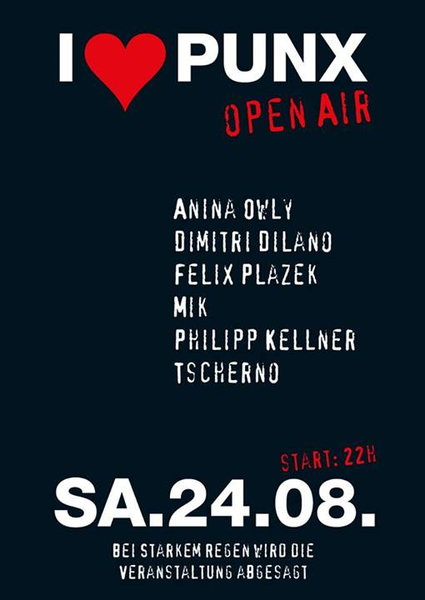 I Love Punx - Techno Open Air 24 Aug '13, 22:00