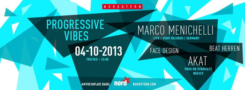 Party Flyer Progressive Vibes 4 Oct '13, 23:00