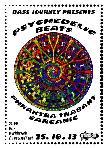 Party Flyer Psychedelic Beats 25 Oct '13, 22:00
