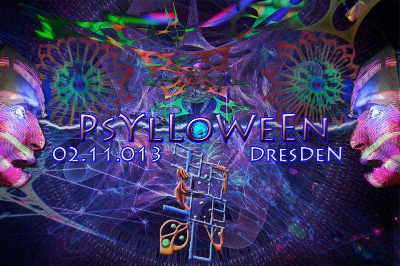 Party Flyer PSYLLOWEENchen 2013 - klein & fein 2 Nov '13, 18:00