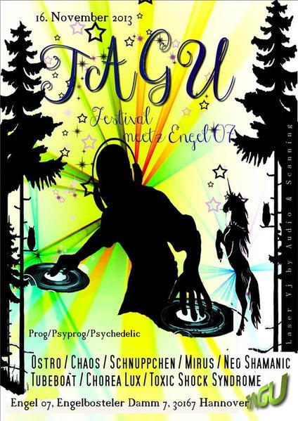 Party Flyer TAGU meetz Engel 07 16 Nov '13, 23:00