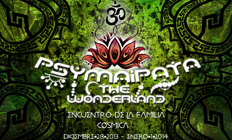 Party Flyer PSYMAIPATA THE WONDERLAND 27 Dec '13, 12:00