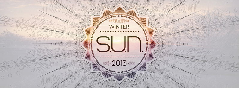 Party Flyer S.U.N. Festival presents WINTER S.U.N. (4 stages) 27 Dec '13, 22:00