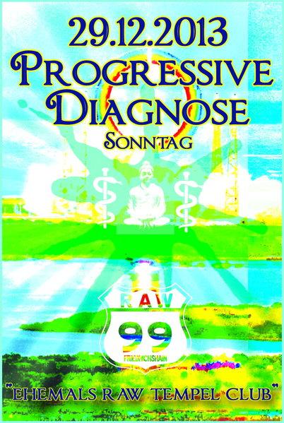 Party Flyer Progressive Diagnose 29 Dec '13, 23:00