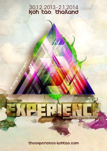 Party Flyer The Experience Festival 2013-2014 30 Dec '13, 18:00