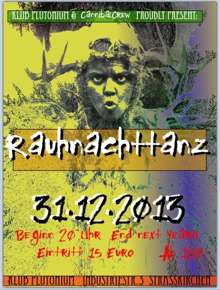 Party Flyer Rauhnachttanz 31 Dec '13, 20:00