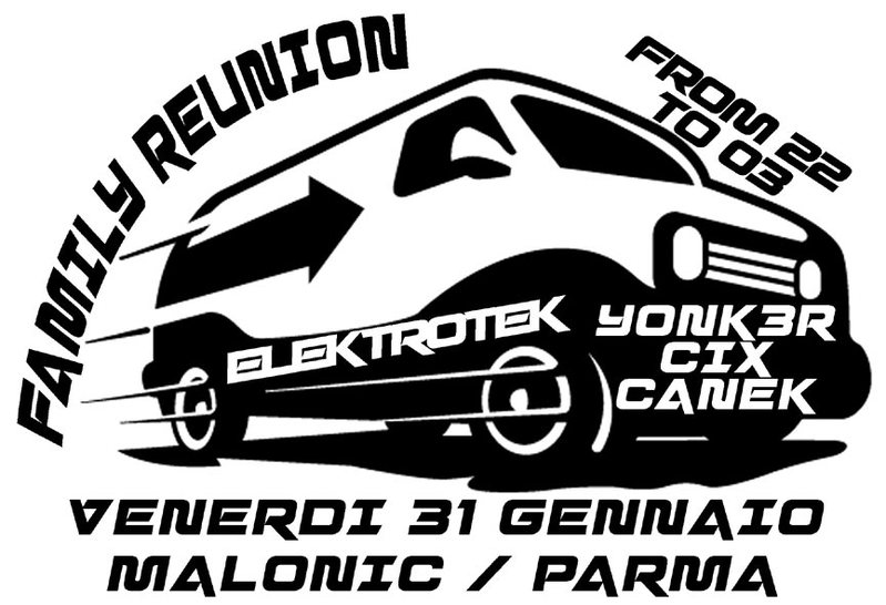 Party Flyer ELEKTROTEK - family symposium 31 Jan '14, 22:00