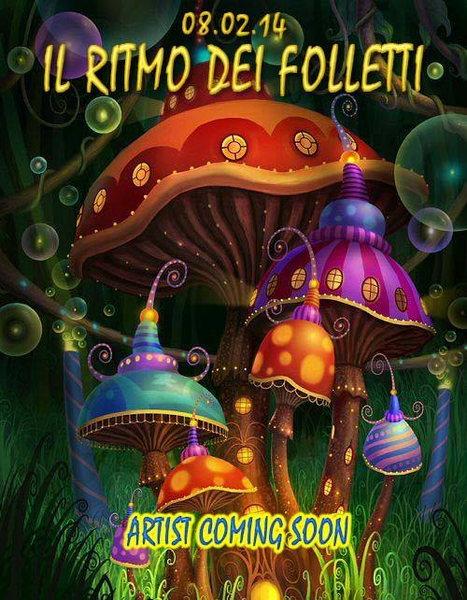 Party Flyer IL RITMO DEI FOLLETTI - 08/02/14 @ PARMA 8 Feb '14, 23:00