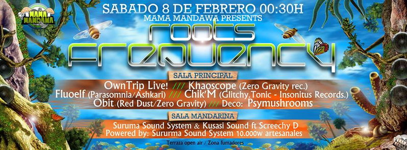 ROOTS FREQUENCY 8 Feb '14, 23:30