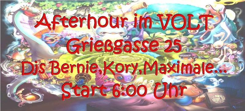 Afterhour im Volt 2 Mar '14, 06:00