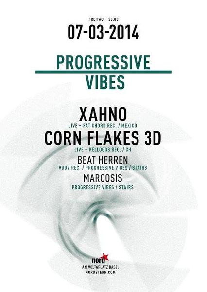 Party Flyer Progressive Vibes 7 Mar '14, 23:00