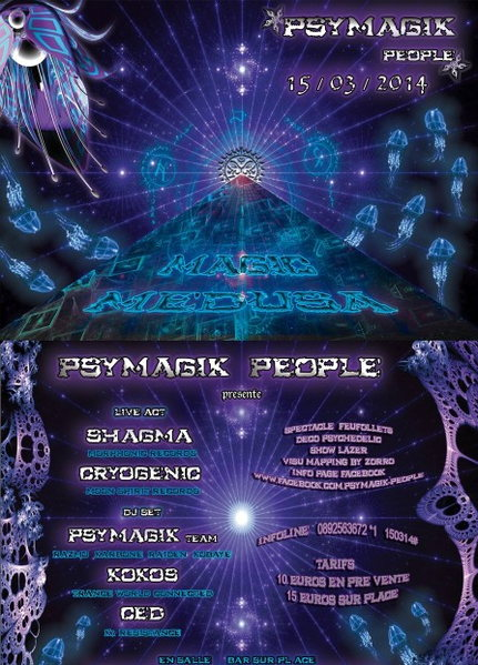 MAGIK MEDUSA by Psymagik-people 15 Mar '14, 22:00