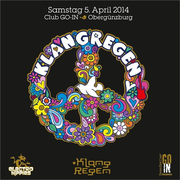 Party Flyer KLANG REGEN 5 Apr '14, 22:00