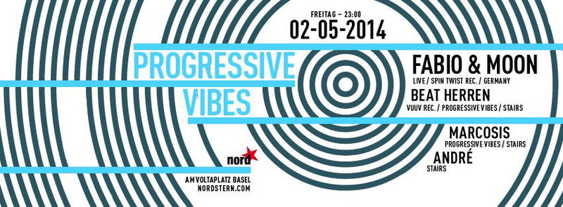 Party Flyer Progressive Vibes 2 May '14, 23:00