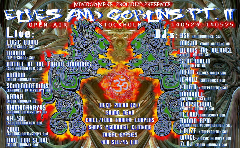 Party Flyer Elves And Goblins Part II (3 days) By MindGamers 23 May '14, 22:00