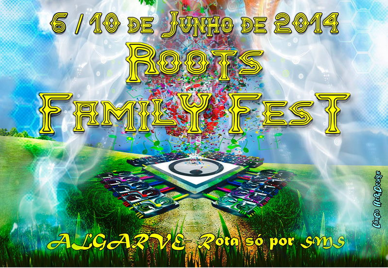 Party Flyer COLABORANISTO - ROOTS FAMILY FEST 6 Jun '14, 22:00