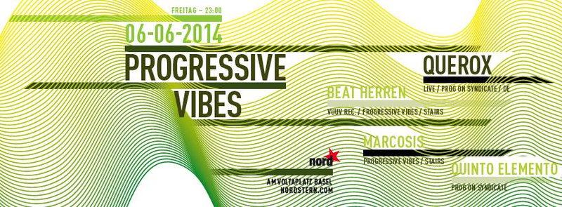 Party Flyer Progressive Vibes 6 Jun '14, 23:00