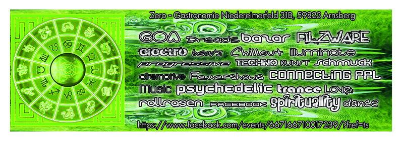 Café Karma@Psychedelic Spielplatz with LIGHTSPHERE,CHOREA LUX,EXPECT 20 Jun '14, 22:00