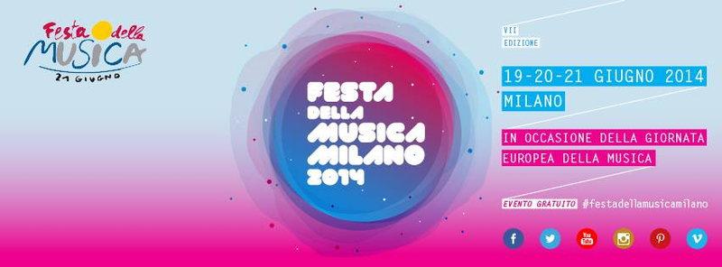 Creative Jungle & Energy Tribe @Festa della musica Milano 20 Jun '14, 22:00