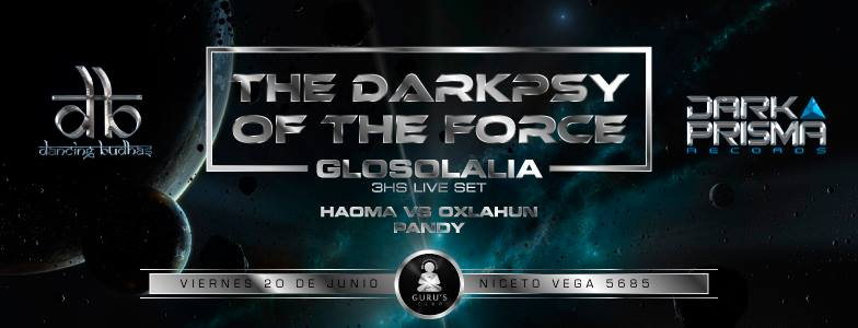 Party Flyer Dancing Budhas The Darkpsy of the Force 20 Jun '14, 23:30