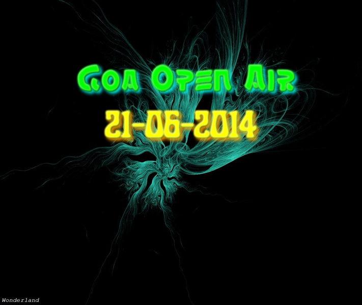 Party Flyer Goa Open Air 21 Jun '14, 14:00