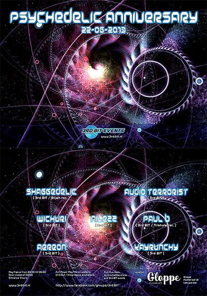 Psychedelic Anniversary 22 Jun '14, 23:00