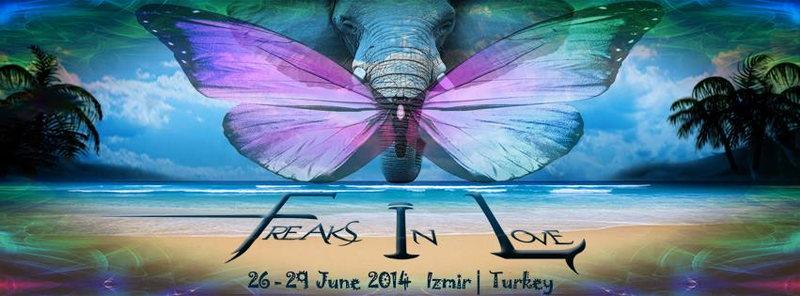 Party Flyer Freaks in Love BEACH Festival 26 Jun '14, 12:00