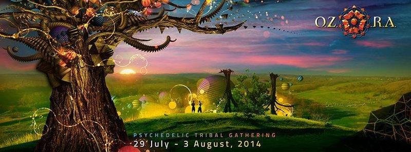 Party Flyer O.Z.O.R.A. Festival 2014 29 Jul '14, 10:00