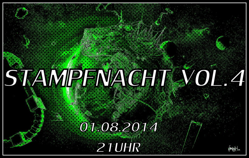 Party Flyer STAMPFNACHT VOL.4 1 Aug '14, 21:00