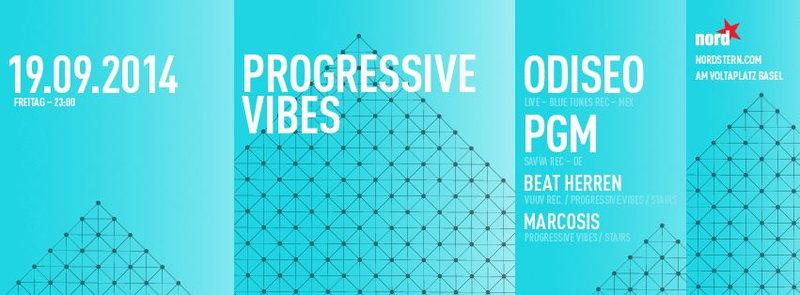 Party Flyer Progressive Vibes 19 Sep '14, 22:00