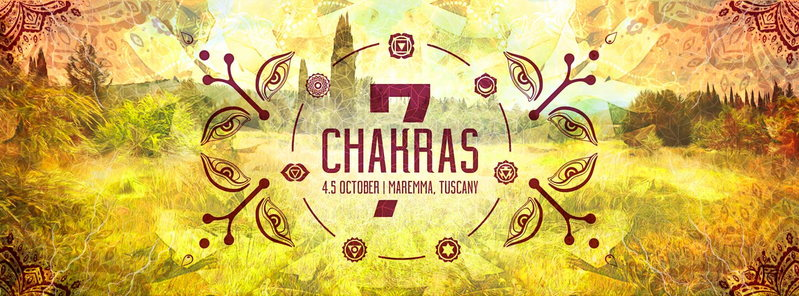 Party Flyer 7 CHAKRAS 4 Oct '14, 16:00