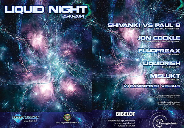 Liquid Night 25 Oct '14, 21:00