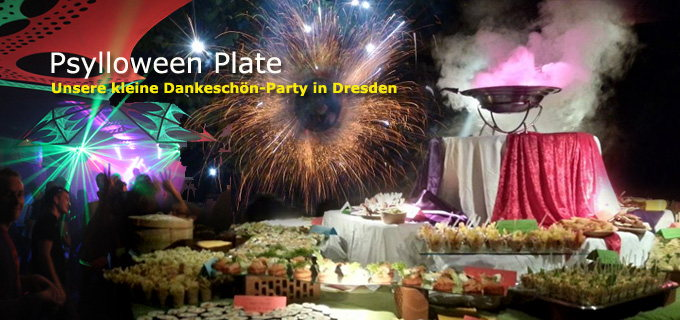 Party Flyer PSYLLOWEEN PLATE - Gaggalacka Friends Event 1 Nov '14, 18:00