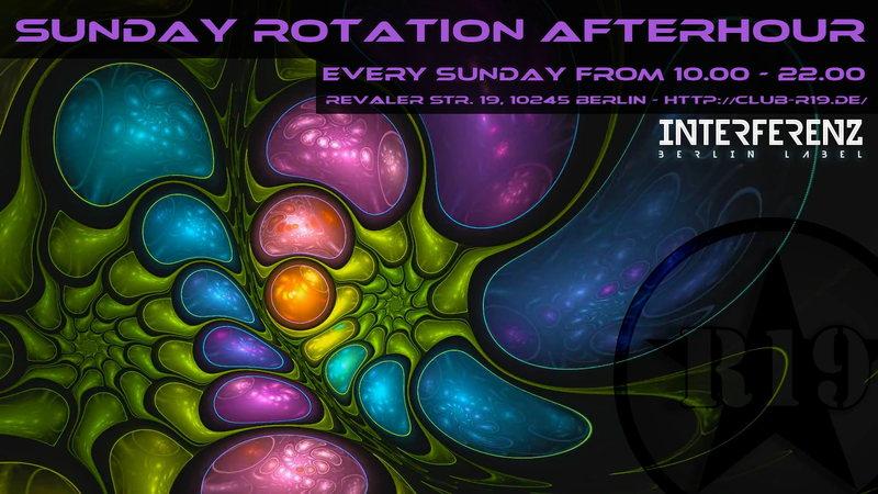 Party Flyer SUNDAY ROTATION ૐ Progressive Psychedelic Trance Afterhour für die Hauptstadt ૐ 28 Dec '14, 10:00