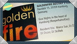 Party Flyer goldenfire 13 Feb '15, 22:00