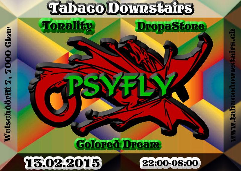 Party Flyer Psyfly 13 Feb '15, 22:00