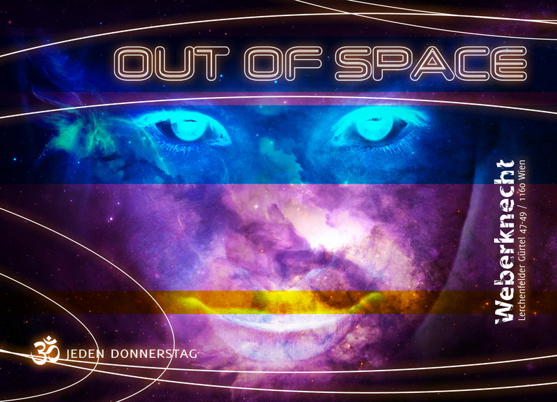 Party Flyer Out of Space 19 Feb '15, 22:00