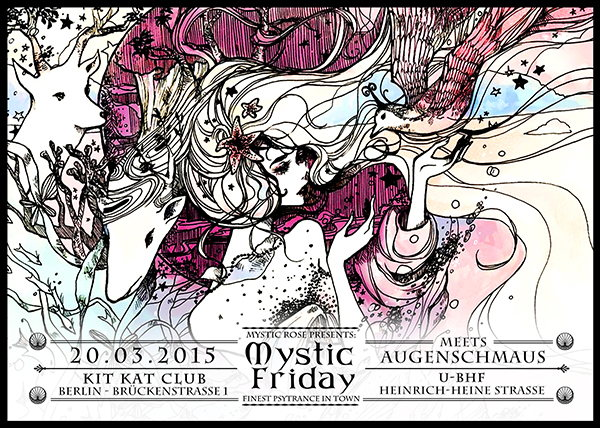 Mystic Friday meets Augenschmauss 20 Mar '15, 23:00