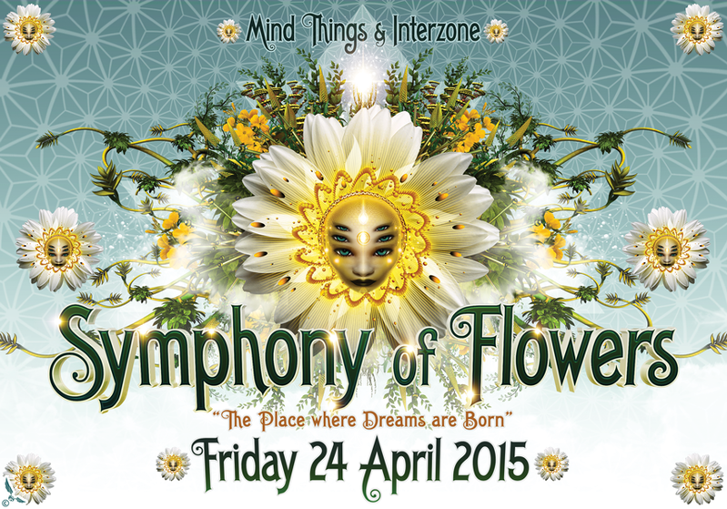 Party Flyer MindThings Symphony of Flowers @ Rote Fabrik Talpa&Zyce, Liquid Soul 24 Apr '15, 22:00
