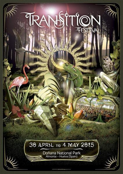 Party Flyer TRANSITION Festival 2015 30 Apr '15, 08:00