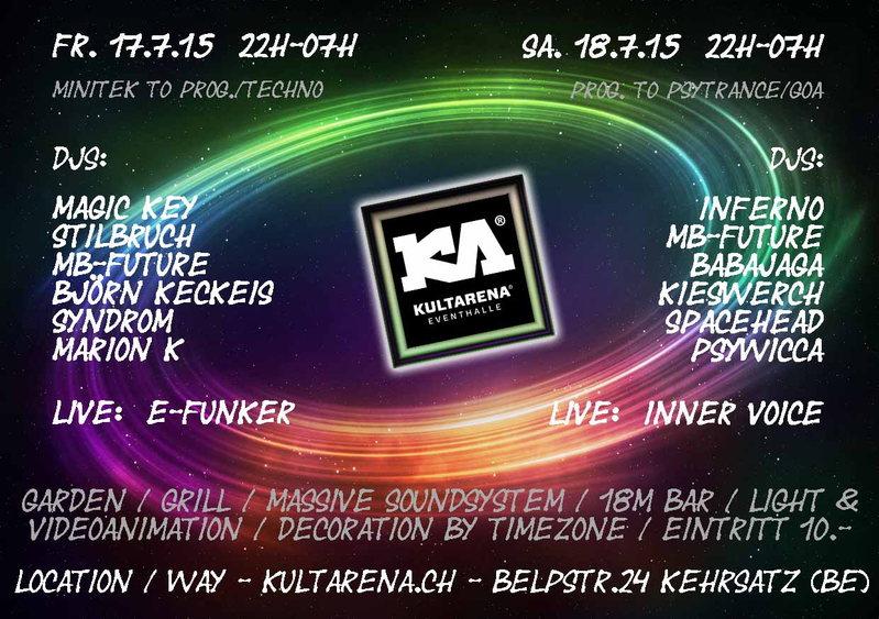 Güschä Afterparty 2015 18 Jul '15, 22:00
