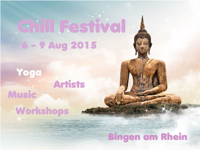 Party Flyer CHILL Festival 6 Aug '15, 12:00