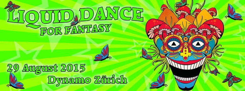 Party Flyer Liquid Dance for Fantasy 29 Aug '15, 21:00