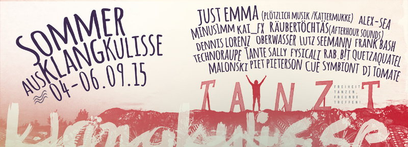 Party Flyer SommerAUSKLANGkulisse 4 Sep '15, 17:00