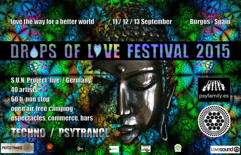 DROPS OF LOVE FESTIVAL 2015 11 Sep '15, 17:00