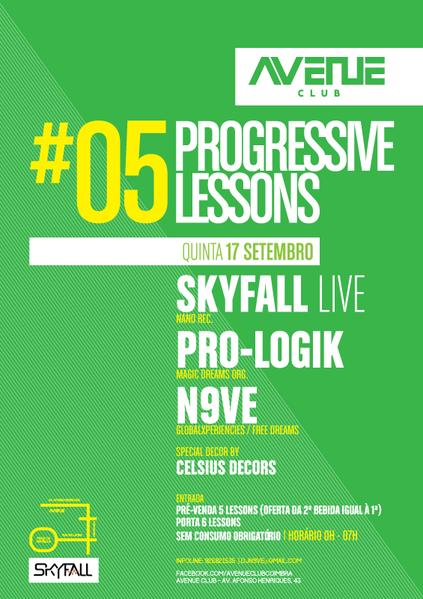 Party Flyer Progressive lesson #05 17 Sep '15, 23:30