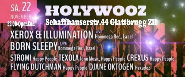Party Flyer *HOLYWOOZ* 22 Nov '14, 22:00