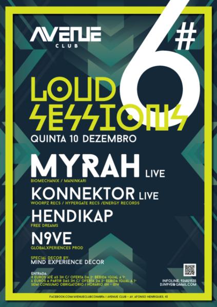 Party Flyer Loud Session #06 10 Dec '15, 23:30